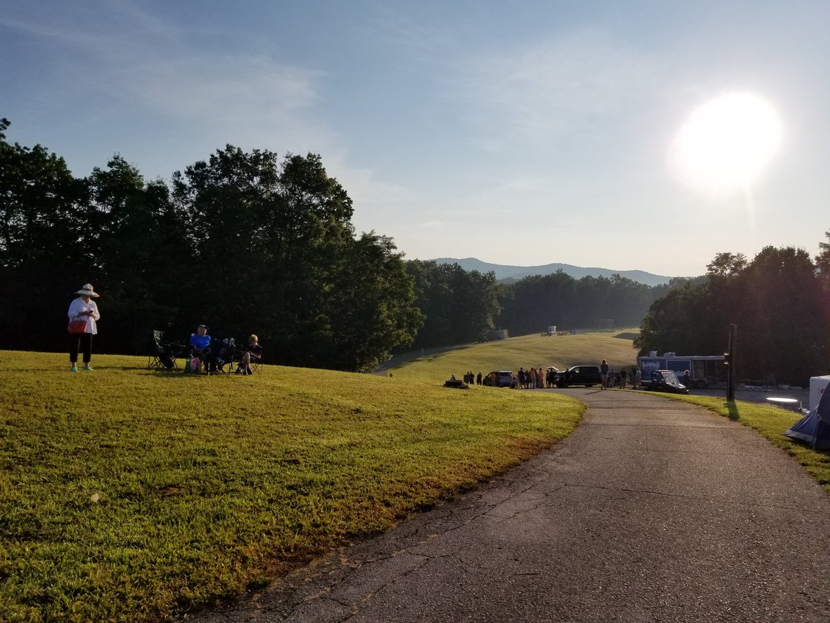 While tourists and locals are enjoying the eclipse in and around Western North Carolina, NASA and PARI scientists will be analyzing the eclipse from the Pisgah Astronomical Research Institute. (Photo credit: WLOS Staff)