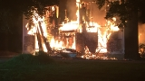 Historic Home Destroyed by Fire in Williamson County
