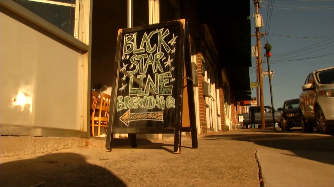 Hendersonville police are investigating after messages that contain racial and anti-gay slurs were sent to Black Star Line Brewing. (Photo credit: WLOS Staff)