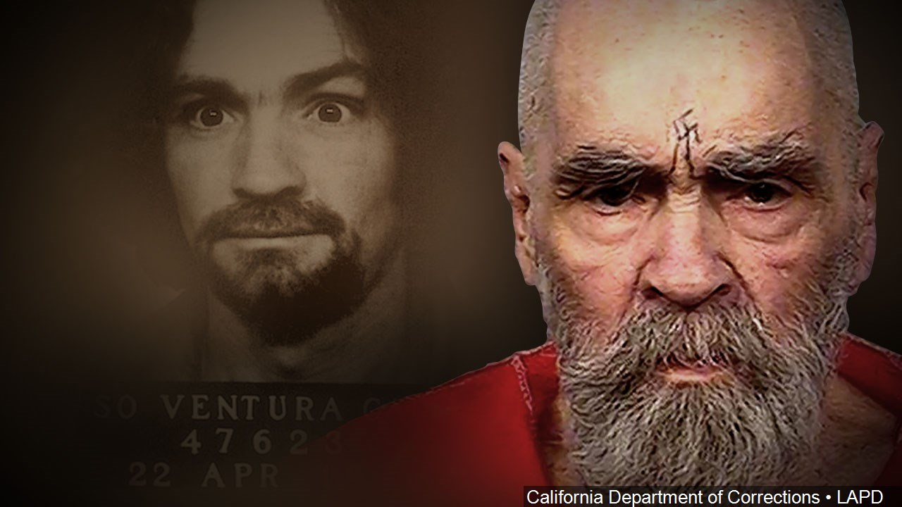 Cult Leader Charles{&amp;nbsp;} Manson died Nov. 19, 2017. He was 83. (California Department of Corrections/LAPD/MGN Online)<p></p>