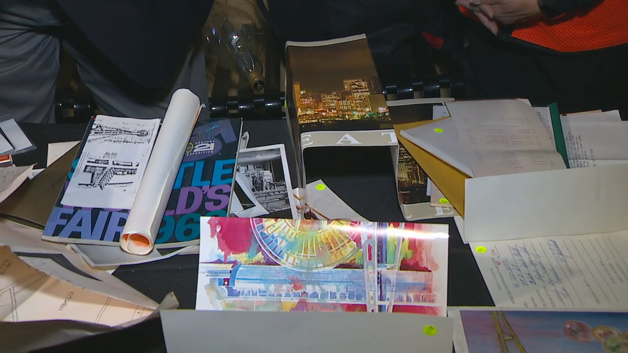Items found inside a 1982 time capsule inside the Space Needle{&amp;nbsp;}(KOMO Photo)<p></p>