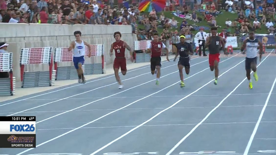 Allen will also run track, where as a junior he was the fastest 100 meter runner in the Valley, and sixth fastest in the state