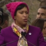 Video: D.C. Mayor Bowser speaks at rally before Women's March