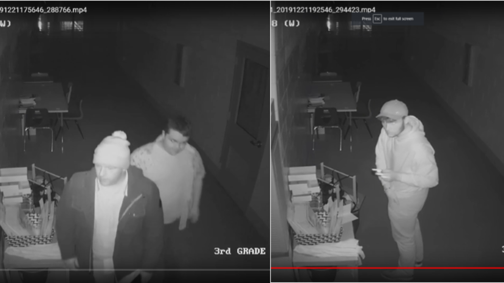 Police hope to identify thieves who stole from Springfield Twp. school