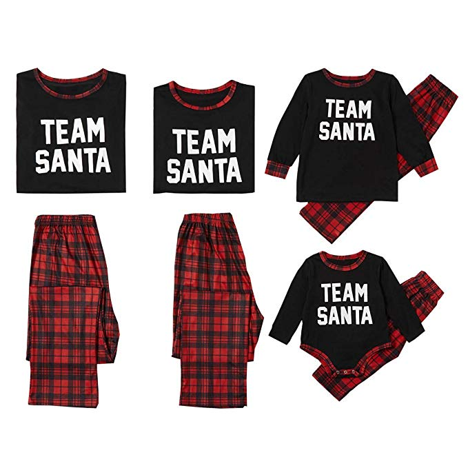 "<p>These ""Team Santa"" PJ's are sure to get the entire fam in the holiday spirit.{&nbsp;}<a  href=""https://www.amazon.com/Matching-Christmas-Loungewear-Sleepwear-Baby%EF%BC%9A12-18M/dp/B081YDGKSN/ref=sr_1_181?crid=CN6N0M58HNKD&dchild=1&keywords=matching+family+christmas+pajamas+sets&qid=1575774030&sprefix=matching+f%2Caps%2C234&sr=8-181"" target=""_blank"" title=""https://www.amazon.com/Matching-Christmas-Loungewear-Sleepwear-Baby%EF%BC%9A12-18M/dp/B081YDGKSN/ref=sr_1_181?crid=CN6N0M58HNKD&dchild=1&keywords=matching+family+christmas+pajamas+sets&qid=1575774030&sprefix=matching+f%2Caps%2C234&sr=8-181"">Shop it{&nbsp;}$14.99 - $29.99</a>{&nbsp;}(Image: Amazon){&nbsp;}</p>"