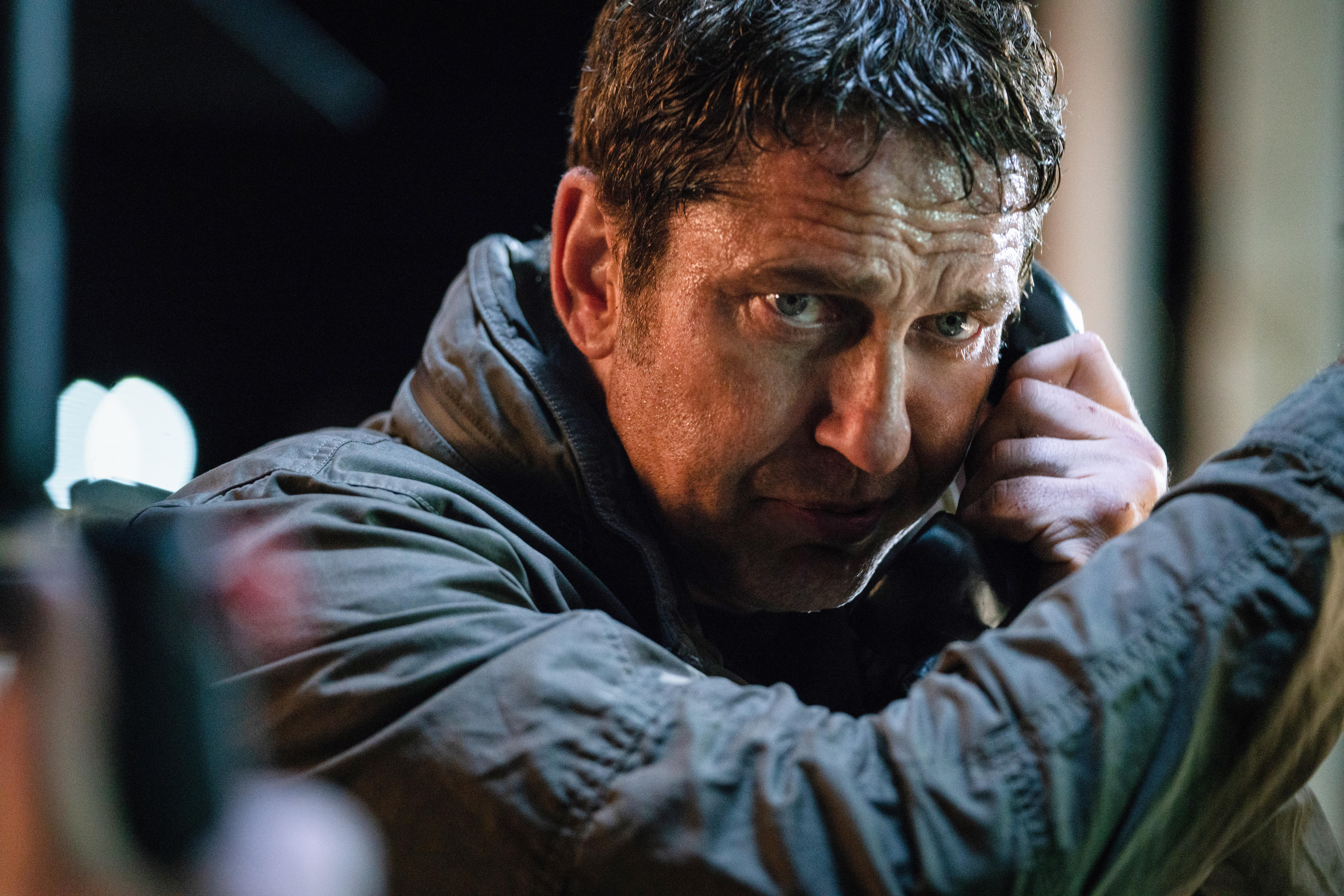 Gerard Butler stars as 'Mike Banning' in ANGEL HAS FALLEN. (Photo Credit: Simon Varsano)