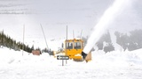 Plowing through unusually deep snow begins in Glacier