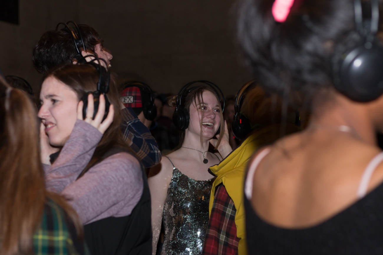 <p>The free event featured specialty drinks and food from Django Western Taco. Dancers got jiggy with it from 5-9 PM. / Image: Lacey Keith // Published: 1.26.19</p>