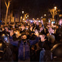 New protests in Spain over the jailing of rapper's backers