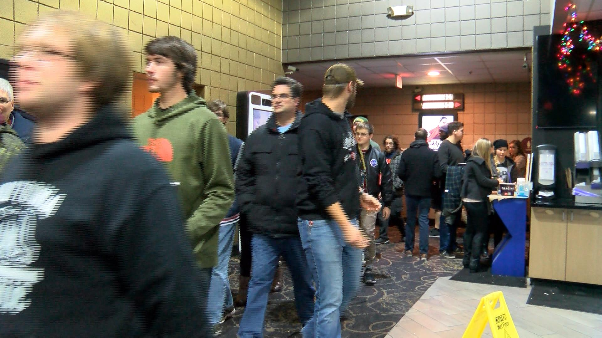 Star Wars fans had 'The Force' with them when they came out in force to see the latest installment of the intergalactic franchise. (Photos by Ian Wood WEYI/WSMH)