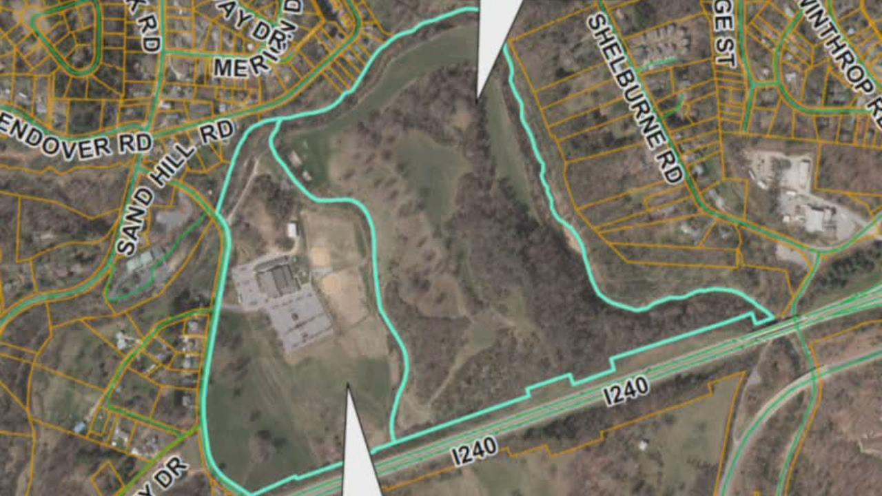 A developer hoping to build hundreds of units along Bear Creek Road has asked for more time before holding a public hearing. (Photo credit: WLOS staff)