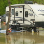 Flooding at Marion campground has campers deciding: stay or go