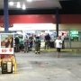 Truck drives into Texaco Food Mart