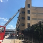 Small fire reported at Judicial Annex parking garage