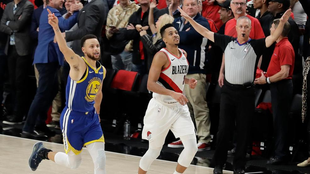 c6d3f4445744 Blazers season over with 119-117 OT loss to Warriors