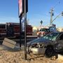 Two people injured in crash in south Bakersfield