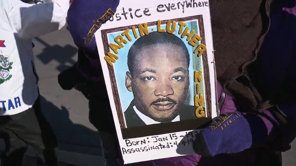 Hundreds Brave Frigid Weather To Attend Baltimore S Martin Luther