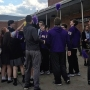 Bishop Guilfoyle sends off football team with pep rally