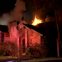 Two children rescued from house fire, hospitalized in critical condition
