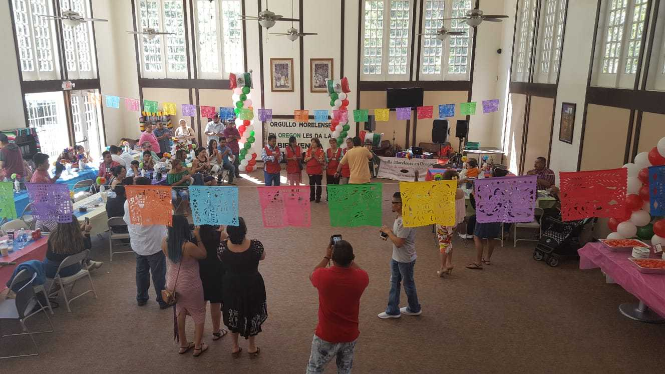 Fotos cortesía: Club Migrante Orgullo Morelense en Oregon