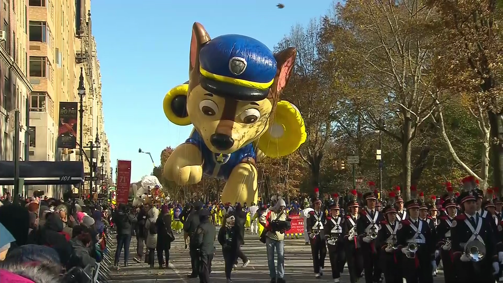 Windy conditions could sideline balloons at Macy's parade