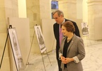 Rep. Bonamici and Sen. Merkley viewing the exhibit.jpg