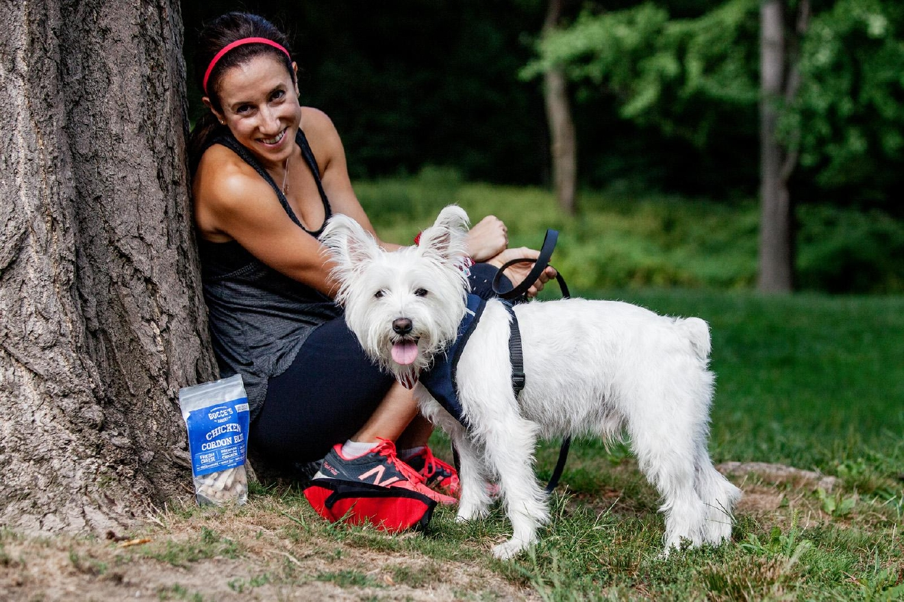 There are endless gorgeous running trails in the D.C. area that are perfect for you and your pup. It takes more than just leashing up and heading out to ensure a safe run. Here's how to make it a happy tail-wagging time for your and your best bud. (Photo: Robert Stoetzel of Dog & Co.)