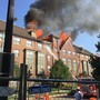 Dozens of senior citizens displaced following large apartment building fire in DC