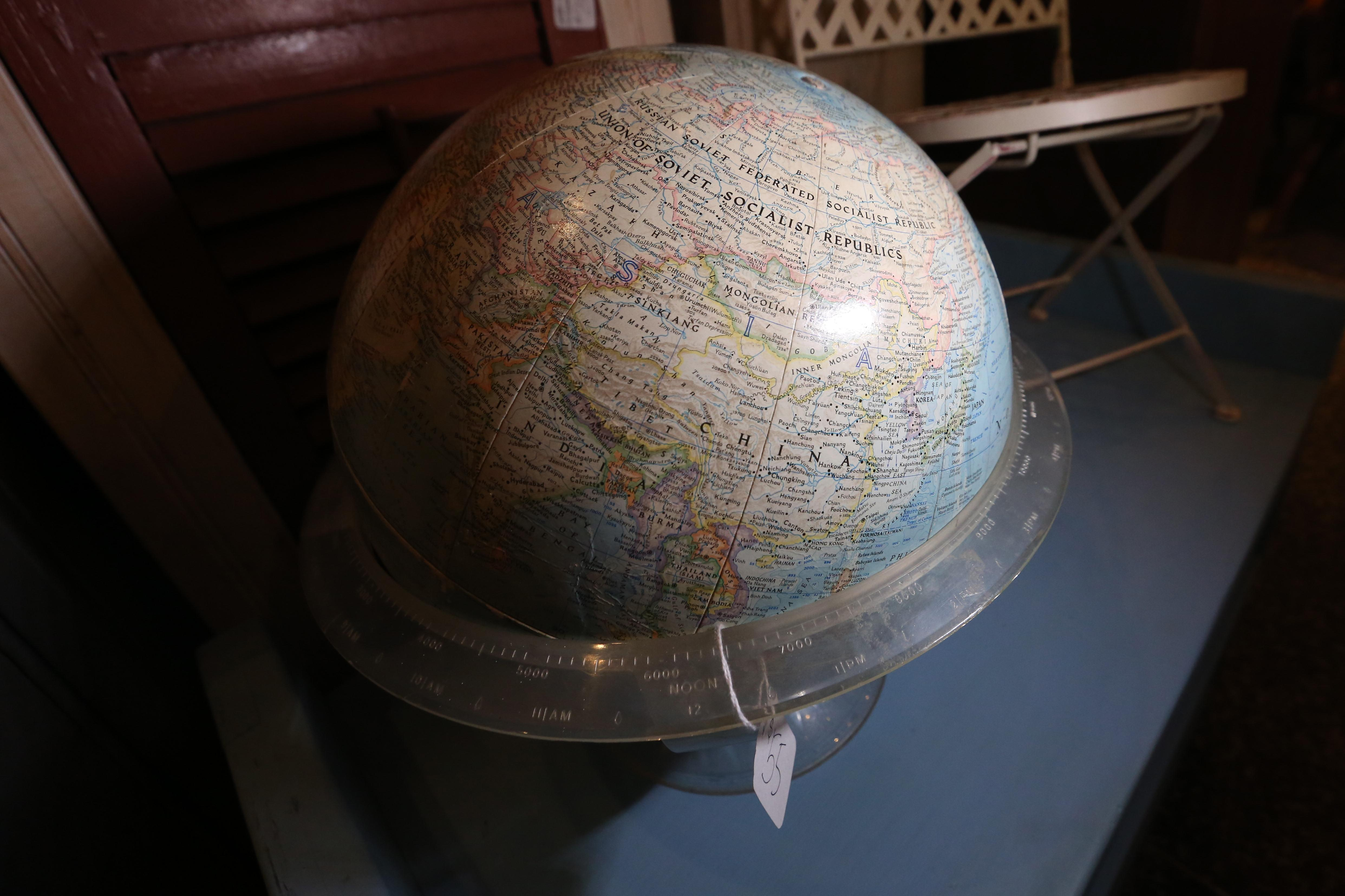 Globe - $55, available at Miss Pixie's. (Amanda Andrade-Rhoades/DC Refined)