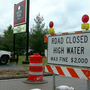Some local businesses remain open despite flood concerns