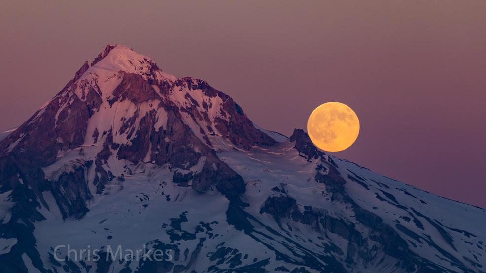 Photos: Buck Moon makes dramatic appearance over Northwest