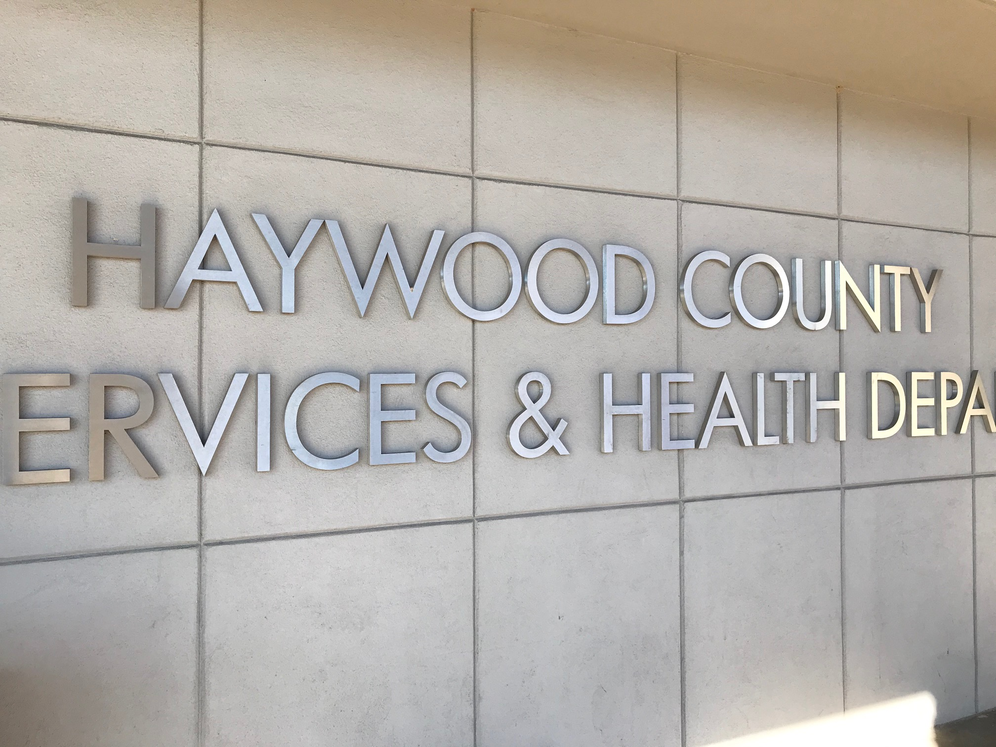 Haywood County health department (Photo credit: WLOS)