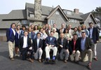In this Sunday, June 7, 2015 photo provided by the Office of George Bush, the Bush family poses for a photo at the family estate in Kennebunkport, Maine. The family gathered for a gala planned to celebrate Barbara Bush's 90th birthday on Monday. Among those present are former President George H.W. Bush, seated front row center, his wife and former first lady Barbara Bush, second row center, former President George W. Bush, third row center, his wife and former first lady Laura Bush, second row third from left, former Florida Gov. Jeb Bush, back row sixth from right, and his wife Columbia Bush, second row fourth from left. (Evan Sisley/Office of George Bush via AP)