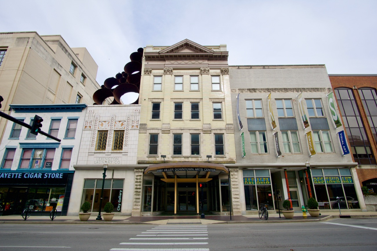 With a growth rate of 8.6 percent, Lexington is the fastest growing city in Kentucky. It features a dense, historic downtown with first-floor bars, restaurants, boutiques, and bodegas. While smaller than its Rust Belt neighbors to the north, it avoided the pitfalls of the 20th Century American city and has emerged as one of the most charming, vibrant, and attractive cities in the region. Located 83 miles south of Downtown Cincinnati. / Image: Brian Planalp // Published: 11.8.18