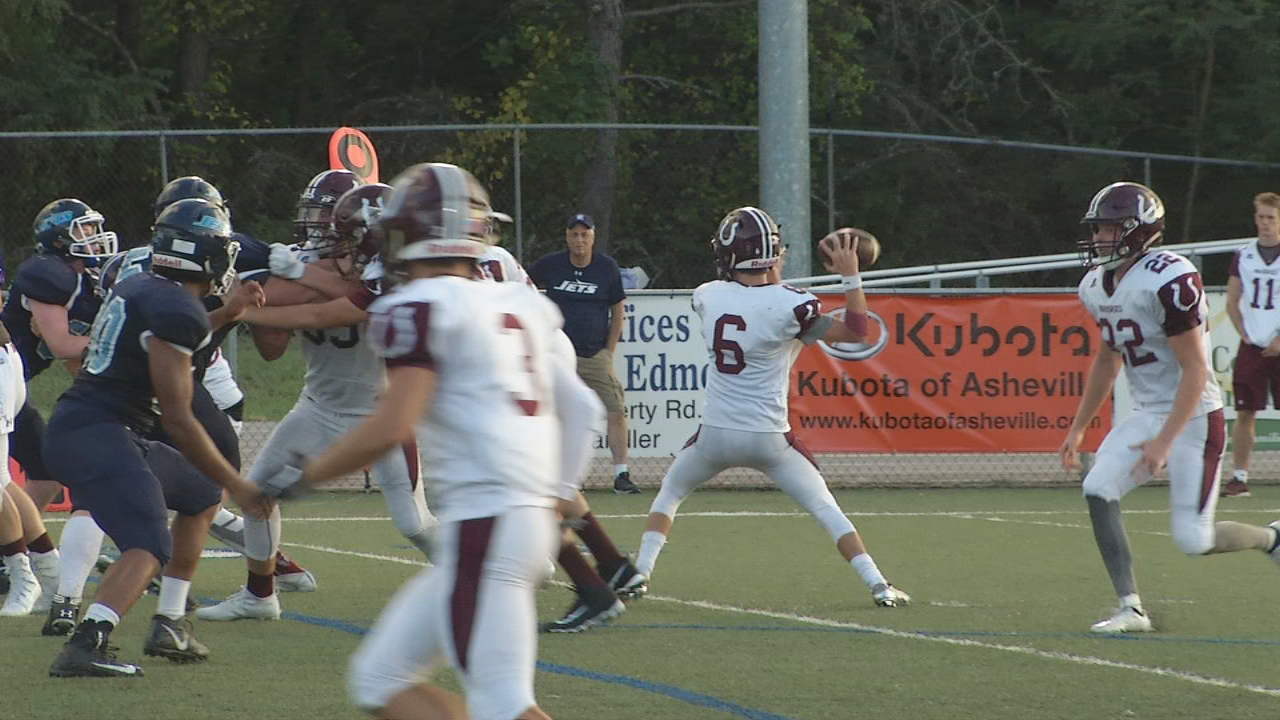 Never before has there been a high school football season in which so many career records were broken in Western North Carolina. (Photo credit: WLOS Staff)