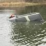 Two children, two adults rescued from sinking car