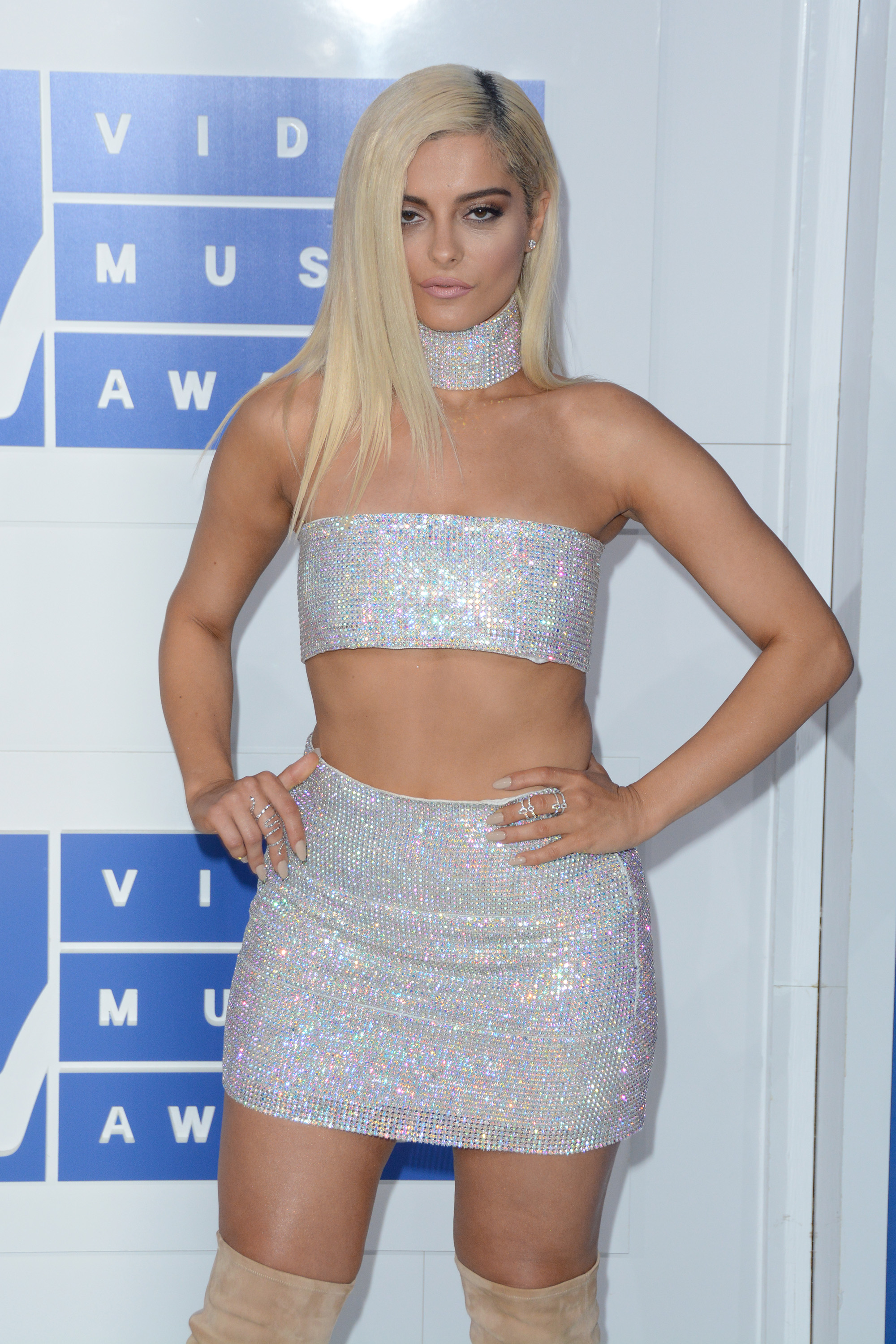 2016 MTV Video Music Awards - Red Carpet Arrivals                                    Featuring: Bebe Rexha                  Where: New York, New York, United States                  When: 29 Aug 2016                  Credit: Ivan Nikolov/WENN.com