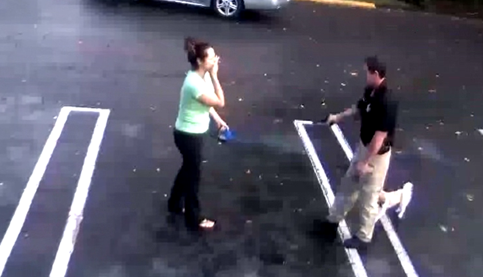 Video shows shooting involving PBSO deputy and ex-girlfriend. (WPEC)<p></p>