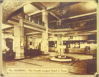 At one time, the Herring Hotel was the fourth largest hotel in Texas. (courtesy: Herring Hotel/Mel Griswold)<p></p>