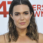 Mandy Moore sporting a black eye and stitches after shower accident