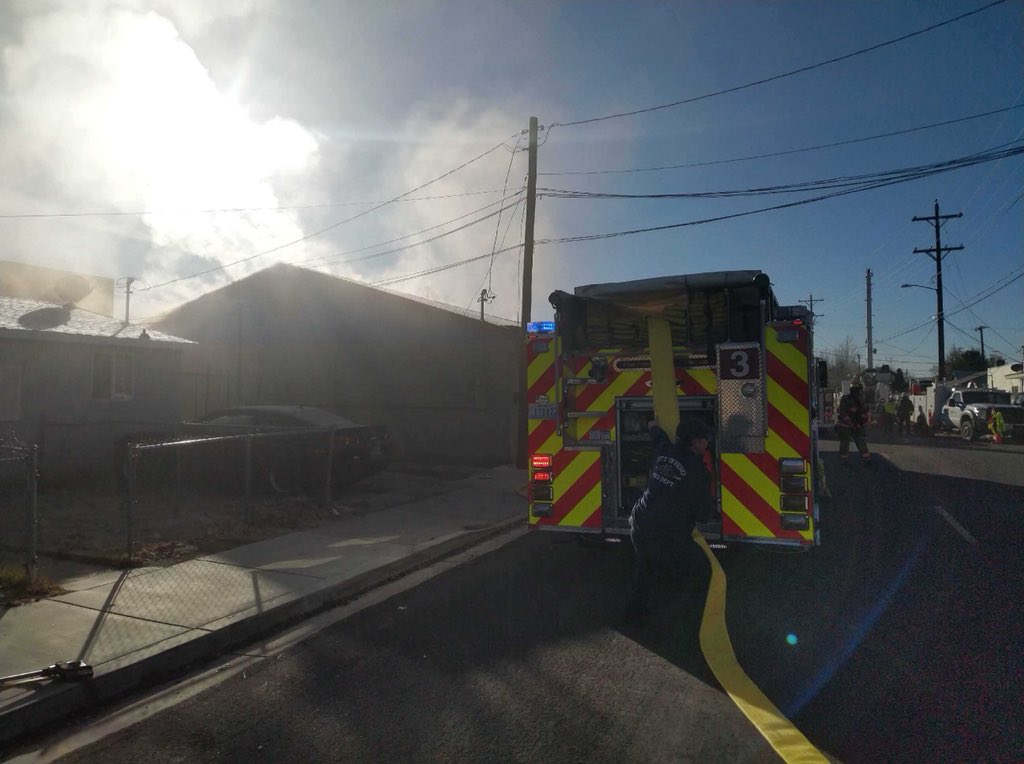Reno Fire: No one injured in structure fire on Wrondel Way