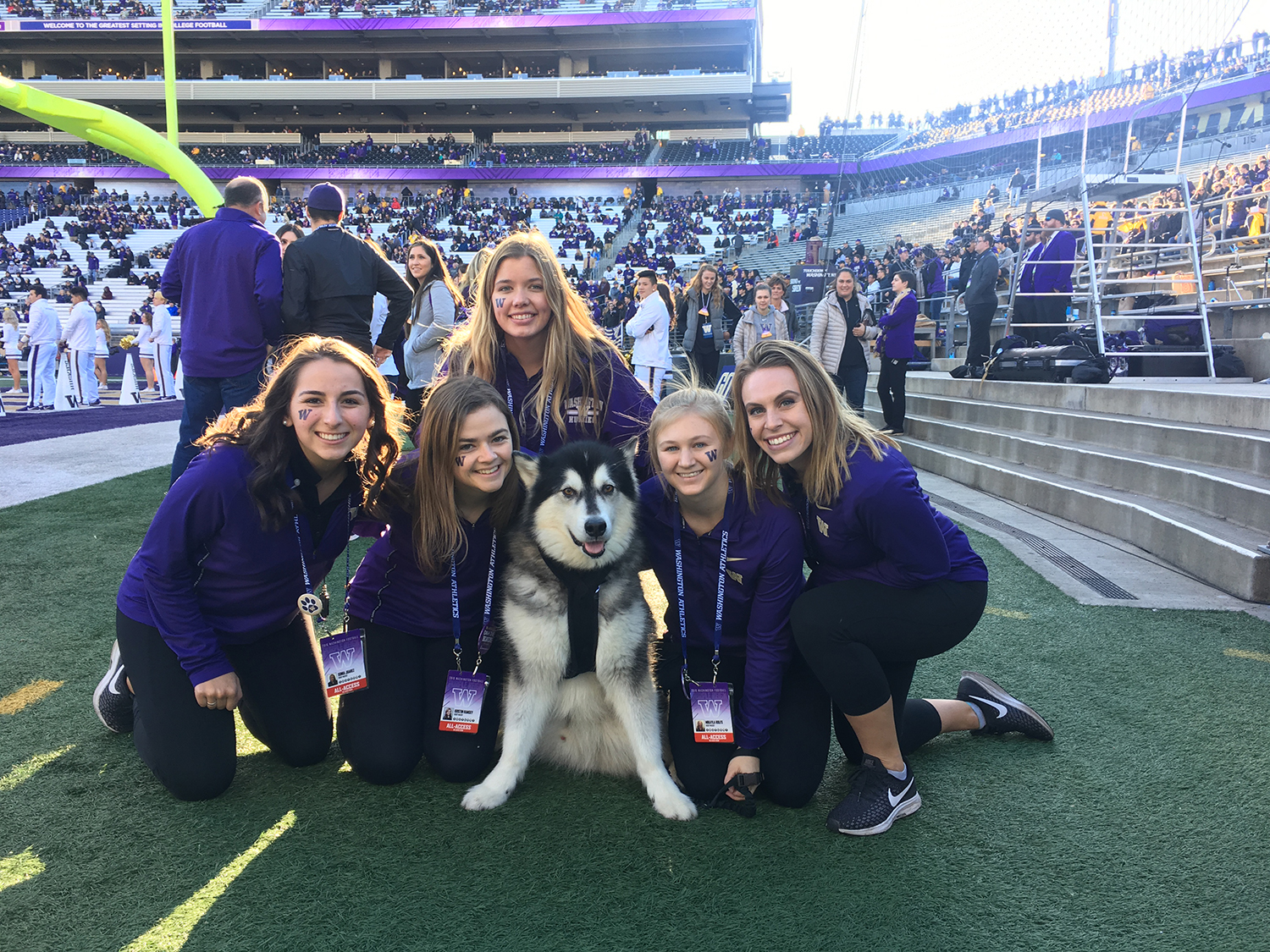 We are so saddened to learn of the passing of Dubs I, the retired goodest mascot of the University of Washington. You gave so many fans, reporters, players and families so much love - we miss you, but we just know you're in DaWg heaven. (Image: KOMO News)