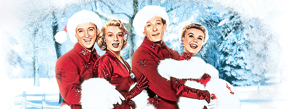 "#3. White Christmas (1954)                                          ""Having left the Army following W.W.II, Bob Wallace and Phil Davis team up to become a top song-and-dance act. Davis plays matchmaker and introduces Wallace to a pair of beautiful sisters (Betty and Judy) who also have a song-and-dance act. When Betty and Judy travel to a Vermont lodge to perform a Christmas show, Wallace and Davis follow, only to find their former commander, General Waverly, as the lodge owner. A series of romantic mix-ups ensue as the performers try to help the General."" - IMDB. *iQuanti found this data by analyzing Google searches around the top-searched holiday movies, and Netflix trends from 2012-2016. (Image: Paramount Pictures)"