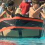 Kids make a splash at Hannibal Cardboard Boat Race