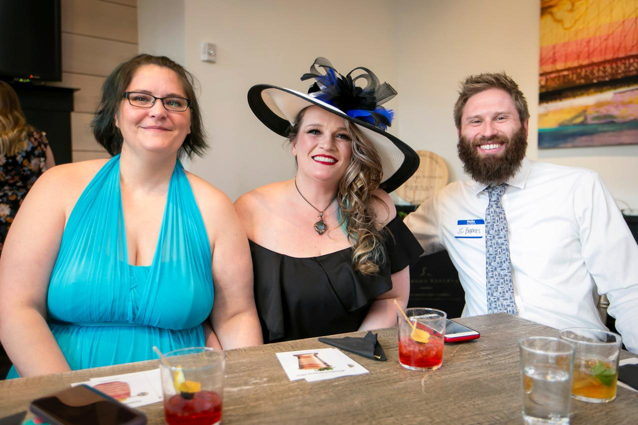 Christine Mullins, Jeannie Moreland, and JC Barnes{ }/ Image: Mike Bresnen Photography{ }// Published: 4.17.19