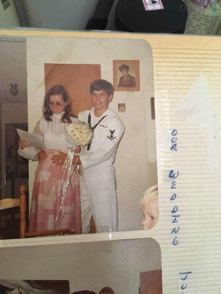 Our Wedding on July 14th 1973.<p></p>