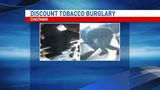 Discount Tobacco in Chatham burglarized, suspect at large