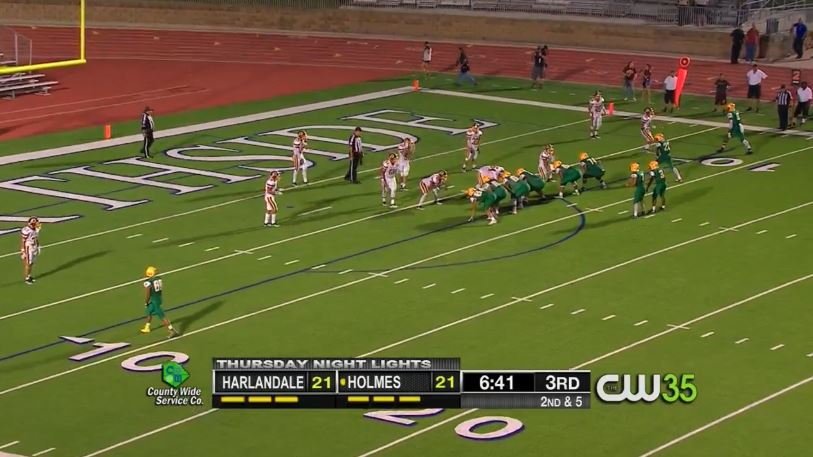 Harlandale vs Holmes on Thursday Night Lights (Photo: Sinclair Broadcast Group)