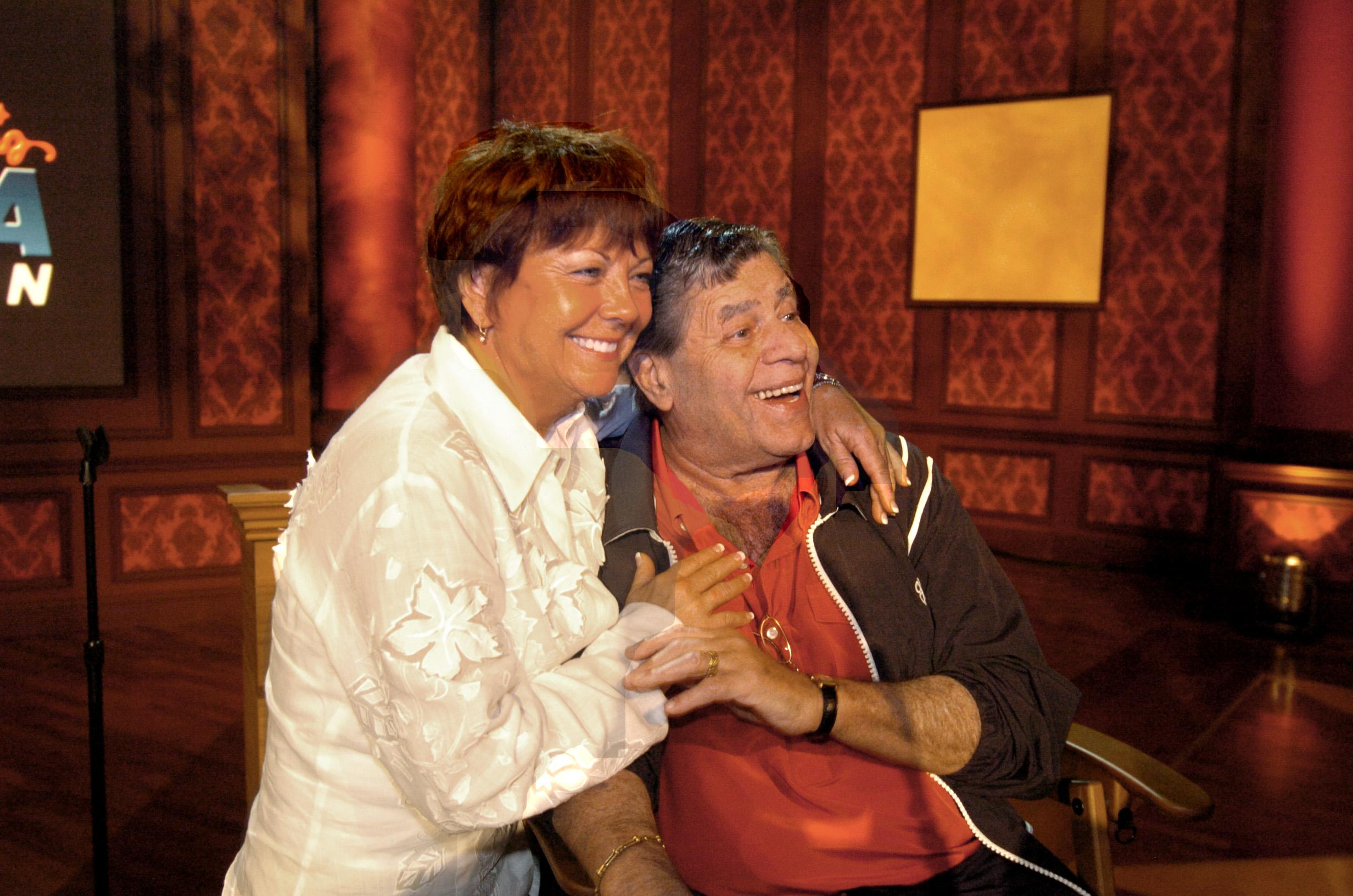 Entertainment icon Jerry Lewis   with his wife Sam (Sandy) during a press conference for his MDA Telethon at the South Coast Hotel and Casino on August 31, 2006 in Las Vegas, Nevada. Photo by Glenn Pinkerton/Las Vegas News Bureau