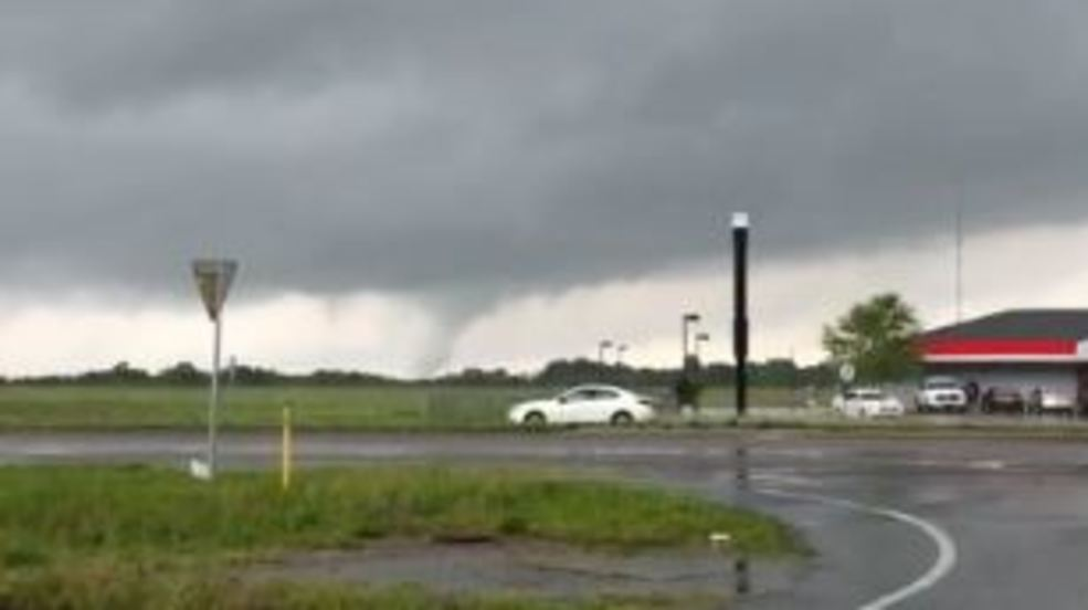 Inside the Storm: Tornado hits Alabama Sunday afternoon